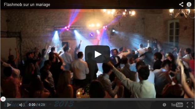 Flashmob sur un mariage