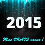 Mes VRAIS vœux pour 2015